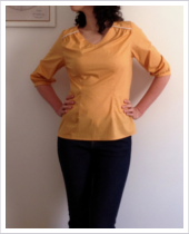 PF Blouse moutarde